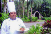 Mayan Chef at Hacienda Chichen, Gourmet Eating at Chichen Itza