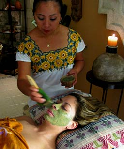 Experience the mystical healing of Mayan organic skin care traditions at Yaxkin Spa