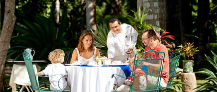 Chichen Itza hotels:  Hacienda Chichen offers you a great family vacation