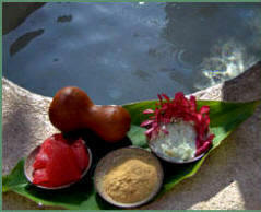 Yaxkin Spa uses 100 % organic nutrients in all its body and skin beauty care spa treatments