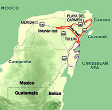 How to get to Chichen Itza from Cancun or Rivera Maya