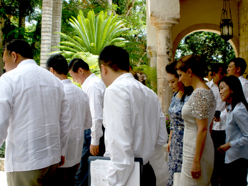 Yucatan's Haciendas - proudly representing responsible tourism, Hacienda Chichen hosted the Presidential official visit to Chichen Itza.