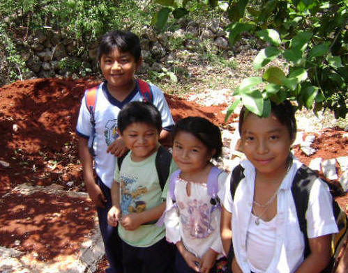 Help us Help!  Become a Volunteer, share your time and heart with the Maya children near Chichen Itza, Yucatan, Mexico while you enjoy free rooming at Hacienda Chichen Resort, a great way to give and visit Yucatan, Mexico