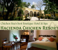 Hacienda Chichen - Mexico's best Green boutique hotel in Chichen Itza, Yucatan